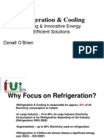 Refrigeration and Cooling