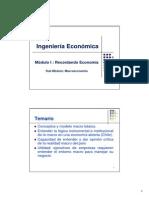 Modulo I Macroeconomia