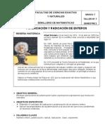 Potenciacion y Radiacion