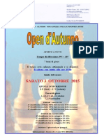 Open Autunno 2015