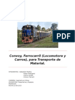 Informe Maquinaria Ferrocarriles 22