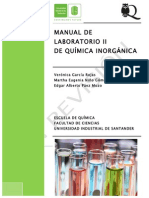 Manual Laboratorio Química Inorgánica II