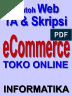 Skripsi ECommerce PHP Dan MySQL