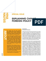 China's Foreign Policy Reset