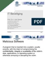 ITSec Malicious Software
