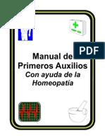 (01)Primeros Auxilios Con Homeopatia