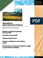 Agricultural Superabsorbent Polymer