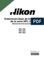 Manual Estación Total NIKON NPL 302
