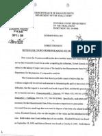 Court filings in Robert Honsch murder case