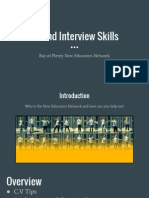 cv and interview skills workshop 2015  1