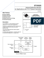 Vertical Deflection Booster for 2.5-APPTV/Monitor Applications With