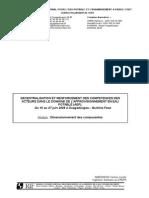 Module AEP 2008 Dimensionnement