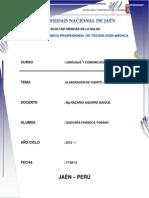 Monografia El Porvenir de Aramango