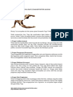 The 5 Points of Yoga and 12 Asanas Position (id)