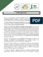 1- Communique Final Forum Maradi