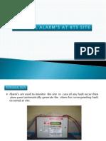 130021365 Alarm s at Bts Site Pptx