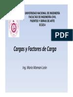 Cargas y Factores de Carga