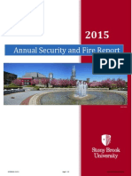 2015 Annual Security and Fire Report