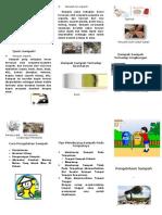 Leaflet Sampah (MI Nurul Huda)