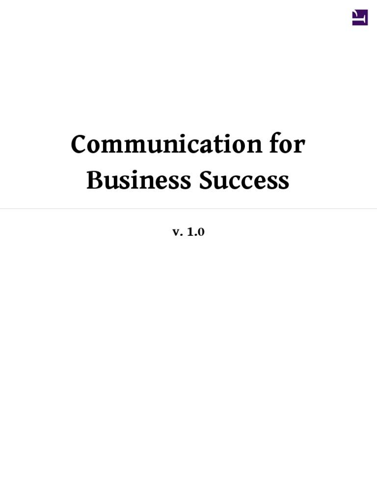 Communication For Business Success Public Speaking Persuasion