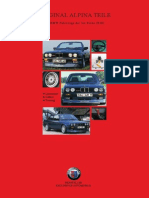 Alpina BMW Series 3 Catalog