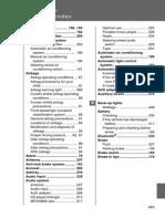 2008 Camry Alphabetical Index