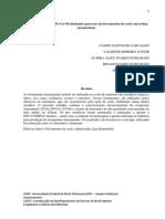 Estudo Do Compósito Fe-cu-nb-diamante Para Uso Em Ferramentas de Corte Em Rochas Ornamentais