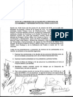Acta-Ministros Autoridades de Cotabambas