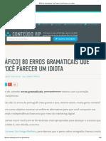 80 Erros Gramaticais Que Fazem Você Parecer Um Idiota.pdf