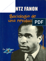 Sociología de Una Revolución. Frantz Fanon.  (Libro)