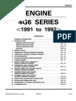Manual de Reparacion Modelos 4g6 Mitsu