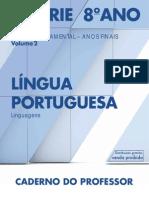 CadernoDoProfessor 2014 2017 Vol2 Baixa LC LinguaPortuguesa EF 7S 8A