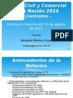 PP Código Civil y Comercial Contratos Parte General y Especial. Hammurabi