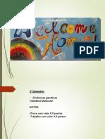 Alterações Cromossômicas Numéricas Psico