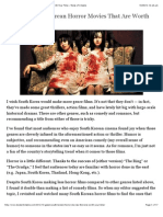 10 Great South Korean Horror Movies That Are Worth Your Time « Taste of Cinema