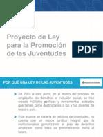 Ley de promoción de Juventudes. Argentina 2015