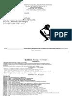 PLANEACIÓN 1° Estructuras metálicas 1 BIM 2013