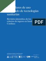 Revisión Sistemática, España, ICC