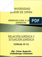 Semana 02 (Rel. y Sit. Jurid) - Civil II