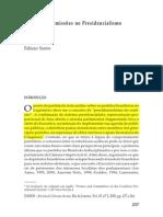 Fabiano Santos Presidencialismo