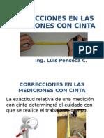Ppt Correcciones en Las Mediciones 25209