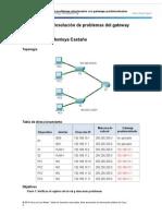 6 4 3 4 Packet Tracer Solucion de Problemas Relacionados Con Gateways Predeterminados