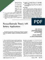 Porous Electrode Review