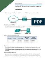 7 2 4 3 Practica de Laboratorio Uso de Wireshark Para Examinar Capturas de FTP y TFTP