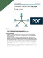 7 3 1 2 Simulacion de Packet Tracer Comunicaciones de TCP y UDP