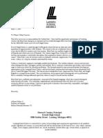 Letter of Recommendation Salais Letterhead