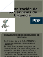 Organizacin de Los Servicios de Urgencia