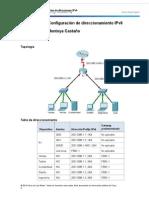 8 2 5 3 Packet Tracer Configuracion de Direcciones IPv6