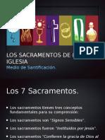 Los sacramentos de la Iglesia católica