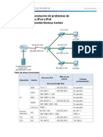 8 3 2 8 Packet Tracer Solucion de Problemas de Las Direcciones IPv4 y IPv6